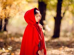 万圣节之深林里的小红帽 kidsfoto枫糖盒子-拍娃党公众号