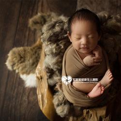 用心赞美生命--松鼠葡萄新生儿摄影 kidsfoto枫糖盒子-拍娃党公众号